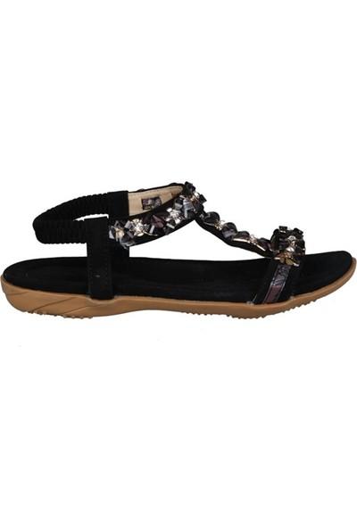 Guja 191-158 Siyah Çocuk Sandalet