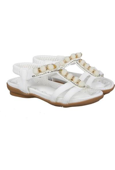 Guja 191-159 Beyaz Çocuk Sandalet