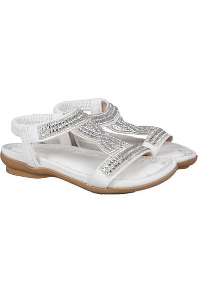 Guja 191-161 Beyaz Çocuk Sandalet