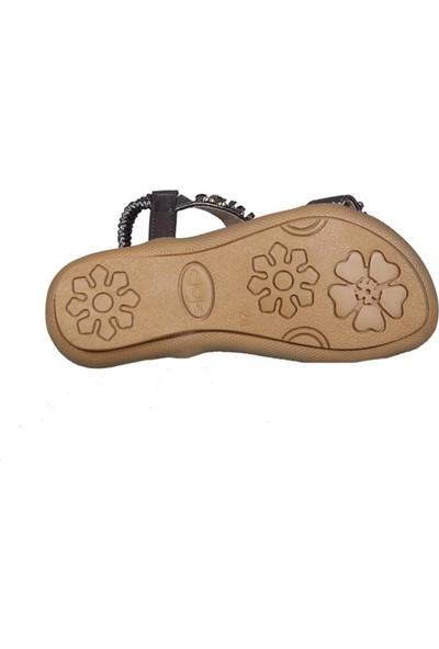 Guja 191-162 Gri Çocuk Sandalet