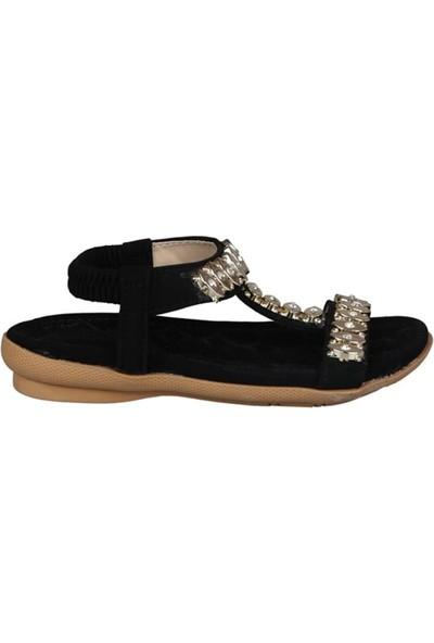 Guja 191-163 Siyah Çocuk Sandalet