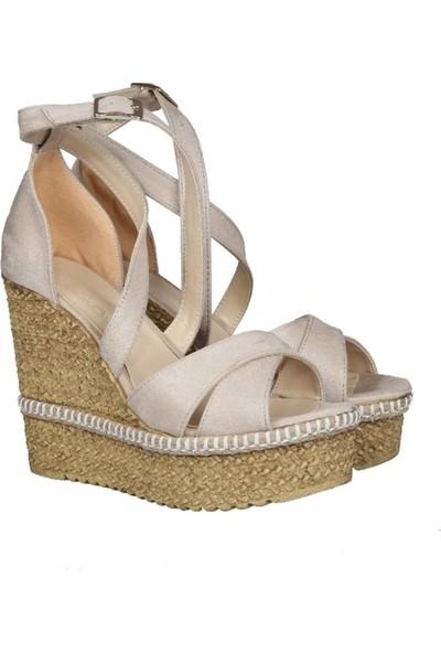Punto 191-98 Ten Rengi Kadın Ayakkabı