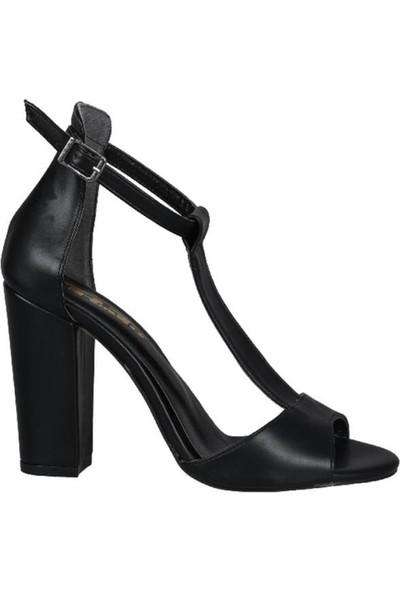 Punto 191-107 Siyah Kadın Ayakkabı
