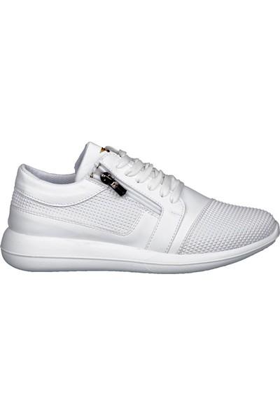 Style Star 181-3 Beyaz Erkek Ayakkabı
