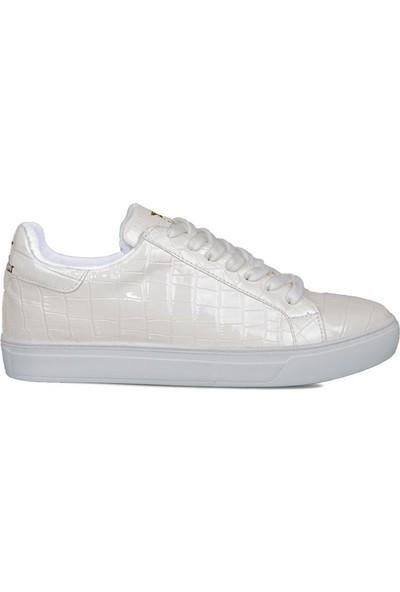 Style Star 181-4 Beyaz Parlak Erkek Ayakkabı