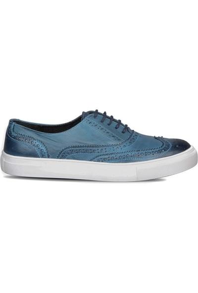 Mert Eser 181-4 Mavi Erkek Ayakkabı