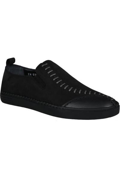 Mert Eser 191-65 Siyah Nubuk Erkek Ayakkabı