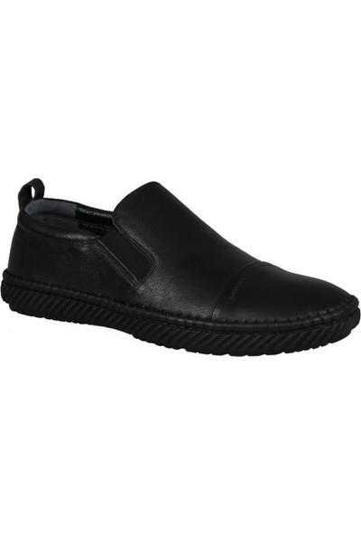 Mert Eser 191-69 Siyah Erkek Ayakkabı