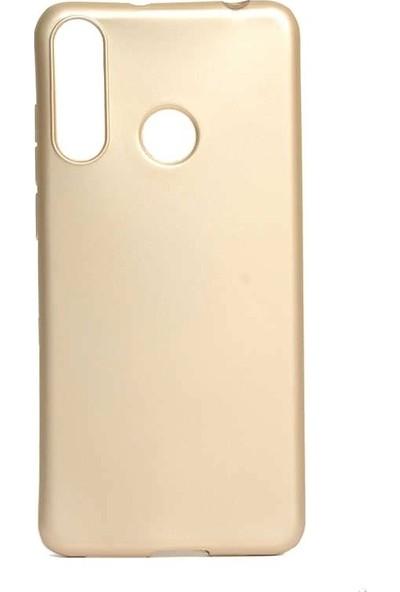 Teleplus Casper Via F3 Kılıf Silikon Gold