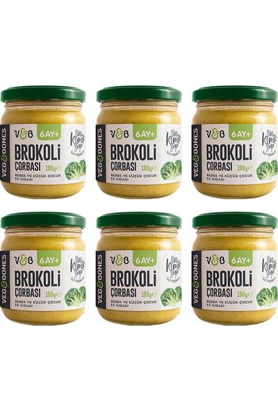 Veg&bones Brokoli Çorbası 190 gr 6'lı Paket