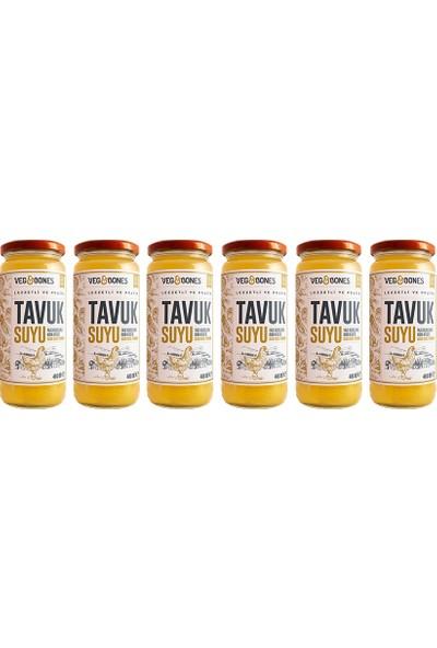 Veg&bones Tavuk Suyu 480ml 6'LI Paket