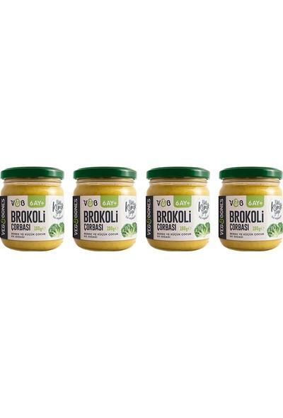 Veg&bones Brokoli Çorbası 190 gr 4'lü Paket