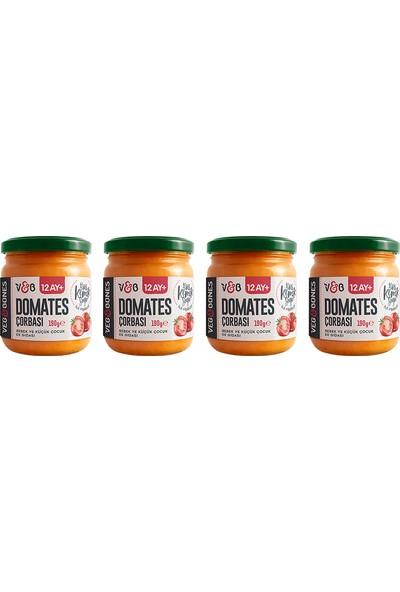Veg&bones Domates Çorbası 190 gr 4'lü Paket