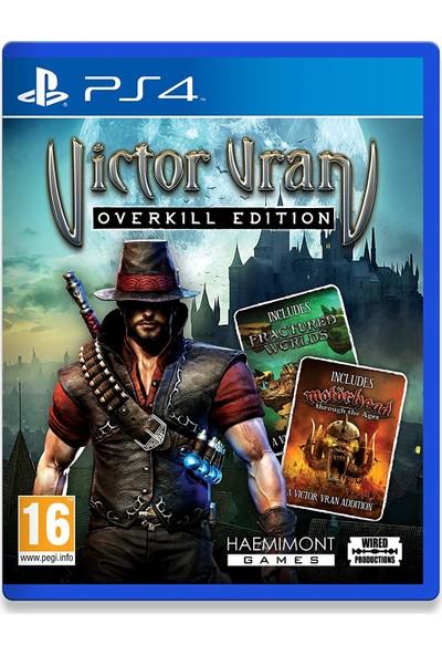 Victor Vran - Overkill Edition PS4 Oyun