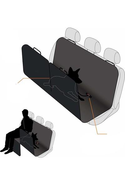 Ankaflex Ekspress Araç Arka Koltuk Koruma Evcil Hayvan Köpek Örtüsü Su sıvı Geçirmez-Siyah