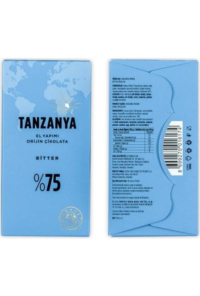 Kahve Dünyası El Yapımı Çikolata Tanzanya 100 gr