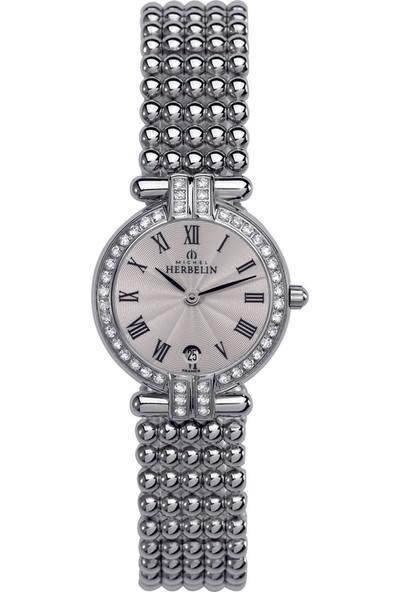 Michel Herbelin Perles 16873/44XB08 Kadın Kol Saati