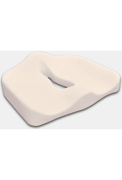 Soft Visco Elastik Dik Durmaya Yardımcı Oturma Minderi Yastığı