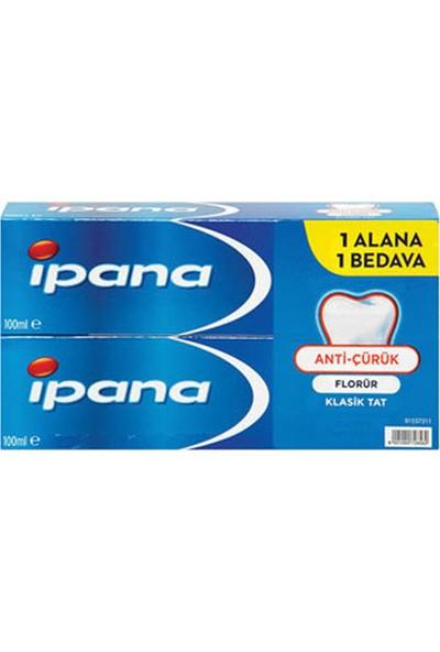 Ipana Diş Macunu 65 ml + 65 ml Kalsident Klasik Tat
