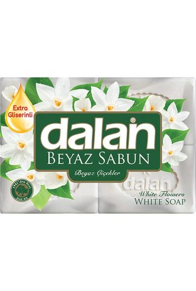 Dalan Banyo Sabunu Beyaz Çiçekler 4 ADET*150 G
