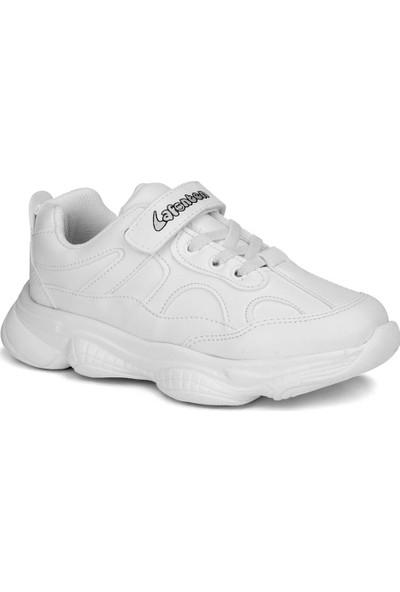 Lafonten Beyaz Unisex Çocuk Ayakkabı Sneaker