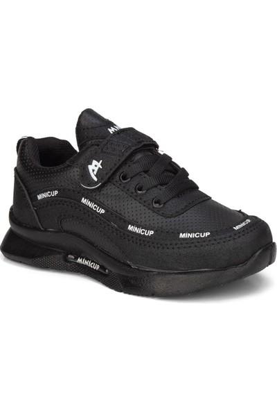 Mini Cup Minicup Siyah Unisex Çocuk Ayakkabı Sneaker