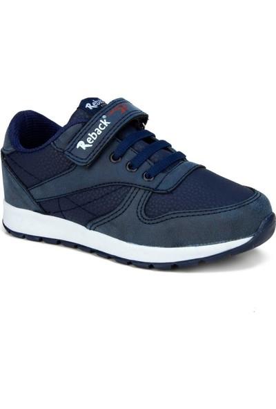Reback Lacivert Unisex Çocuk Ayakkabı Sneaker