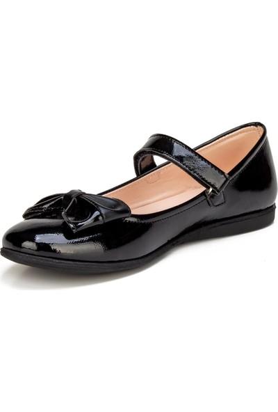 Bayrak Siyah Kız Genç Çocuk Ayakkabı