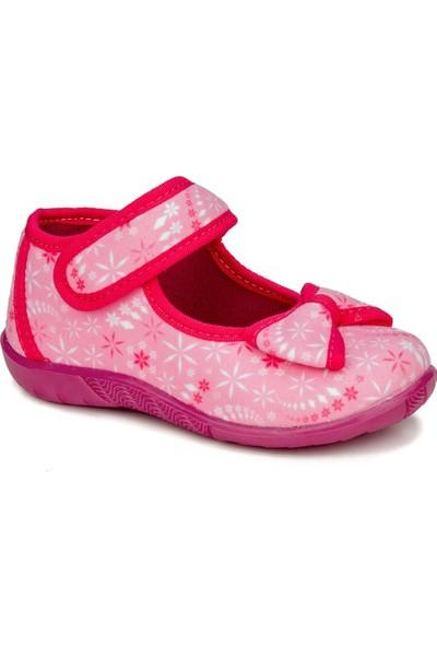 Crazy Kids Crazykids Pembe Kız Çocuk Panduf Kreş Ayakkabısı
