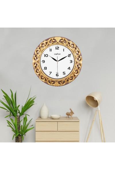 Cadran Avangarde Style 36,5 x 36,5 cm Dekoratif Duvar Saati CDM004
