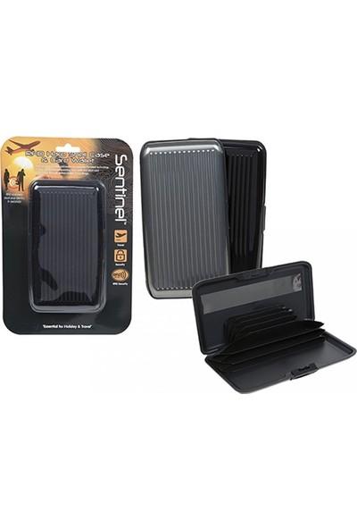 Sentinel RFID Korumalı Nakit ve Kart Cüzdanı