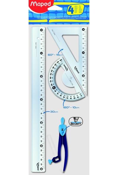 Maped Çizim Seti Pergelli Start 30Cm 4Lü 899218