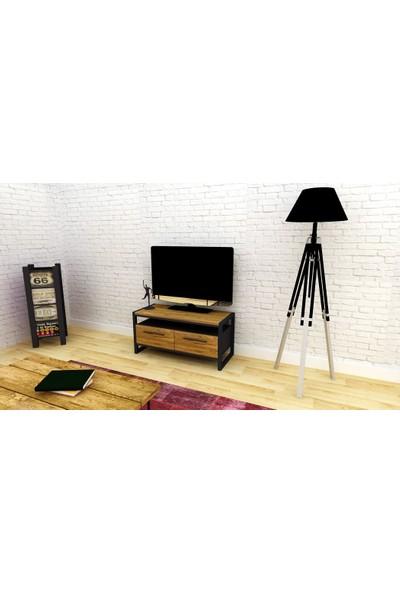 Archi Ahşap Atölyesi Frexton Small Tv Ünitesi 90 cm