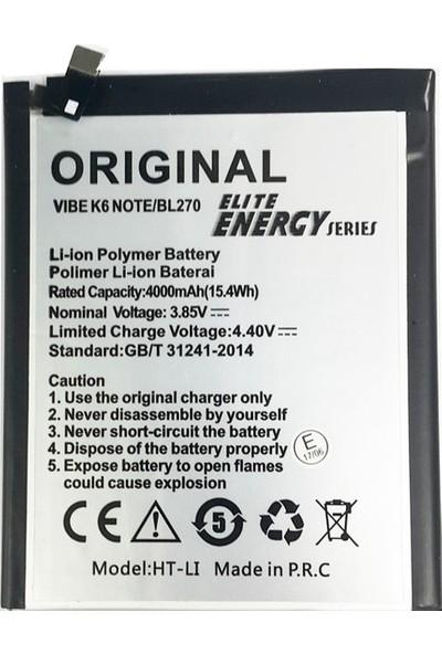 Cyrox Lenovo K6 Note Batarya