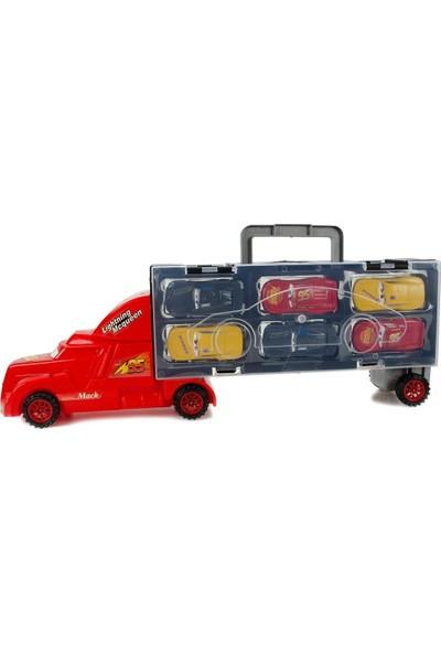 Disney Cars Arabalar Şimşek Mcqueen, Jackson Storm, Mater Oyuncak Seti