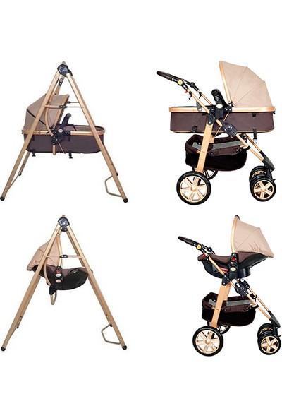 Mcrae MC-5561 Supreme Trio Travel Salıncak Aparatlı Bebek Arabası