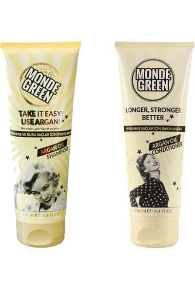 Monde Green Argan Yağlı Şampuan ve Saç Kremi