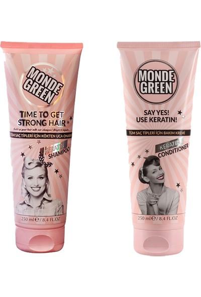 Monde Green Bıotın&keratın Şampuan ve Krem Seti