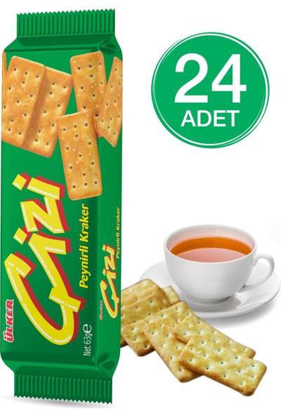 Ülker Çizi Kraker 65 gr 24 Adet
