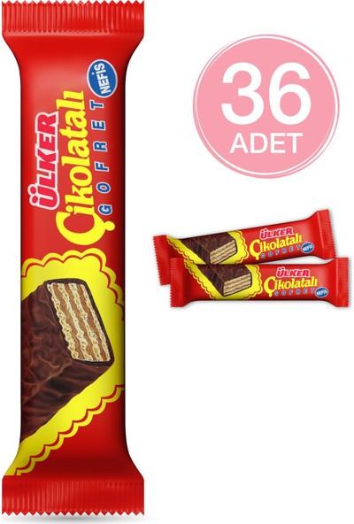 Ülker Çikolatalı Gofret 36 Adet 36 gr
