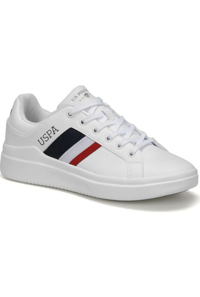 U.S. Polo Assn. Camel 9Pr Beyaz Erkek Sneaker Ayakkabı