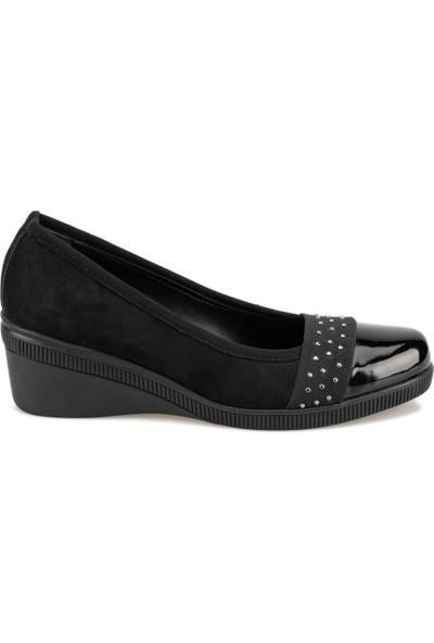 Polaris 92.314096Sz Siyah Kadın Gova Ayakkabı