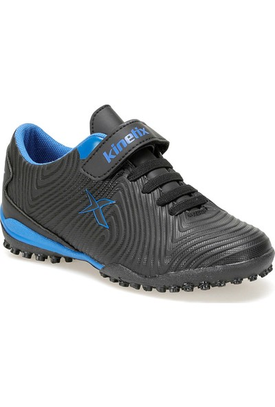 Kinetix Agron J Turf 9Pr Siyah Erkek Çocuk Hali Saha Ayakkabısı