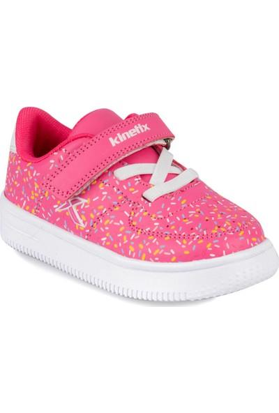 Kinetix Kalen Print 9Pr Pembe Kız Çocuk Sneaker Ayakkabı