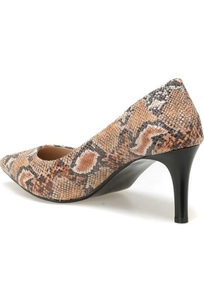 Miss F Dw19002 Yilan Rengi Kadın Gova Ayakkabı
