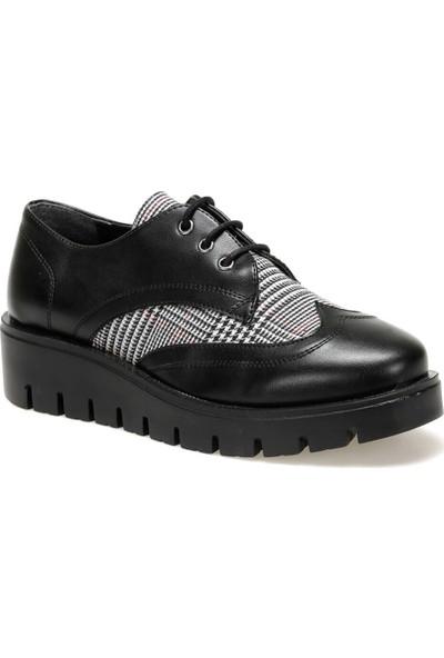 Butigo 19K-008 Ekose Kadın Maskulen Ayakkabı