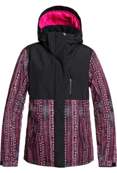 Roxy Jetty Block Jk J Snjt Kvj8 Snowboard Ceketi