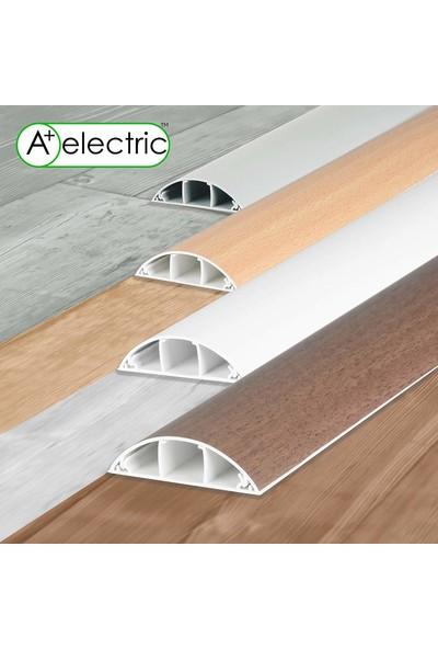 A Plus Elektrik 70x20 mm Balık Sırtı Gri 2x1m=2m Bantsız Kablo Kanalı