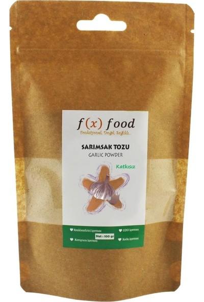 Fx Food Sarımsak Tozu Katkısız 100 gr