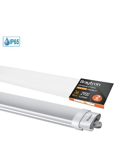 Braytron LED Bant Armatür Etanj IP65 36W 6500K Beyaz Işık 120 cm BT03-01230